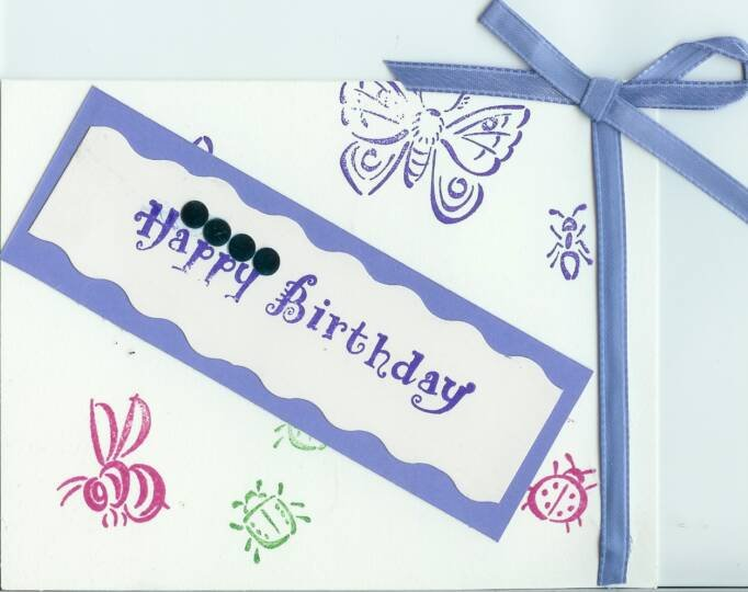 It's a Bug's Life Birthday Card