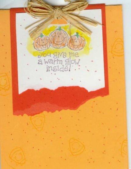 Halloween Jack-O-Lanterns Card