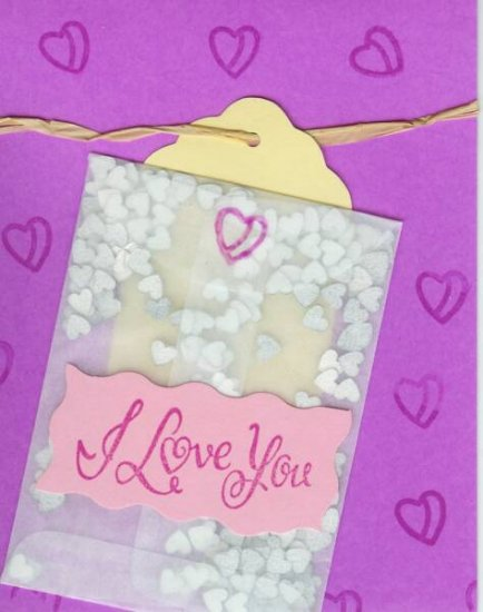 I Love You Confetti Card
