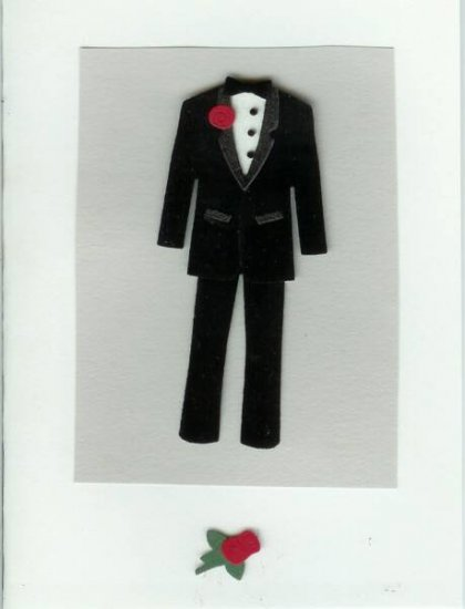 Here Comes the Groom Card