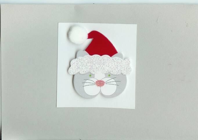 Kitty Christmas Card