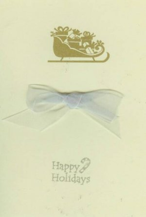 Happy Holidays Sleigh Ride Card