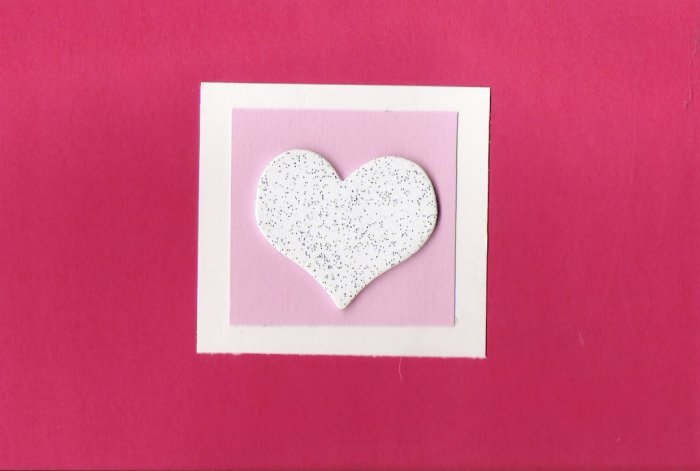 Glitter My Heart Card