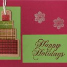 Presents Happy Holidays Card