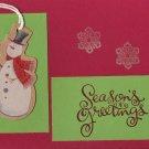 Snowman Season's Greetings Card