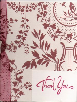 Cranberry Thank You Card
