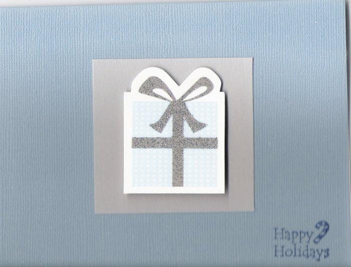 Happy Holidays Present Card
