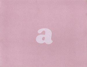 """Initial """"A"""" Card-Rose & Lavendar"""
