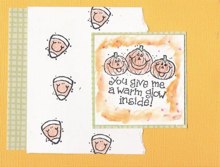 Pumpkin Patch Halloween Card
