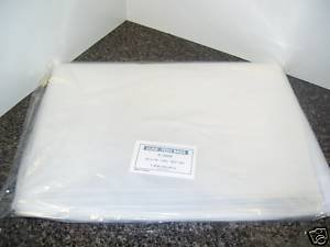 Clear Flat Uline Poly Bags