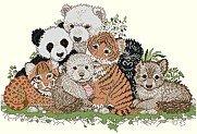 Endangered Species Collage