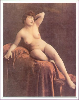 Vintage 1970's Victorian Nude Prints 100 all the same Lot #2