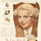 1945 Max Factor Hollywood  Make Up Lana Turner Advertising Print Ad-tva1509