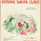 Vintage Sheet Music I saw Mommy Kissing Santa Claus 1952