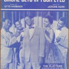 Vintage Sheet Music Smoke Gets In Your Eyes - The Platters 1933