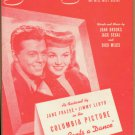 Vintage Sheet Music  Someday Somewhere - Columbia Picture 1944