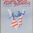 Vintage Sheet Music Victory Polka 1943
