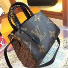 Authentic Vintage Louis Vuitton Alma Brown and Tan LV Monogrammed Canvas Made in France Designer