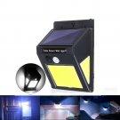 Solar 60 COB LED PIR Motion Sensor Wall Light 3-sided Waterproof Outdoor Garden Yard Path Security L