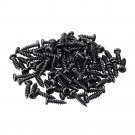 100pcs Battery Box Screw PA 2.3*8mm Bolts for DIY PC Assortment Kit Repair Tool Accessories