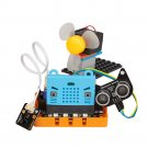 Kittenbot Micro:bit Kittenblock Makecode Graphic Program DIY Educational Robot Kit Compatible With L