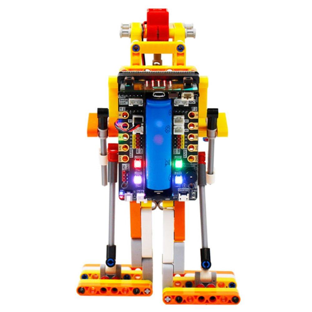 Yahboom DIY Micro:bit Super:bit Progammable Block Building APP Control Smart RC Robot Educational Ki