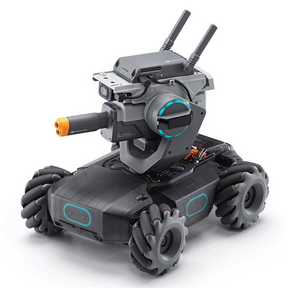DJI Robomaster S1 STEAM DIY 4WD Brushless HD FPV APP Control Intelligent Educational Robot With AI M