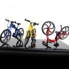 Mini Bike Model Openable Folding Mountain Bicycle Bend Racing Alloy Model Toys