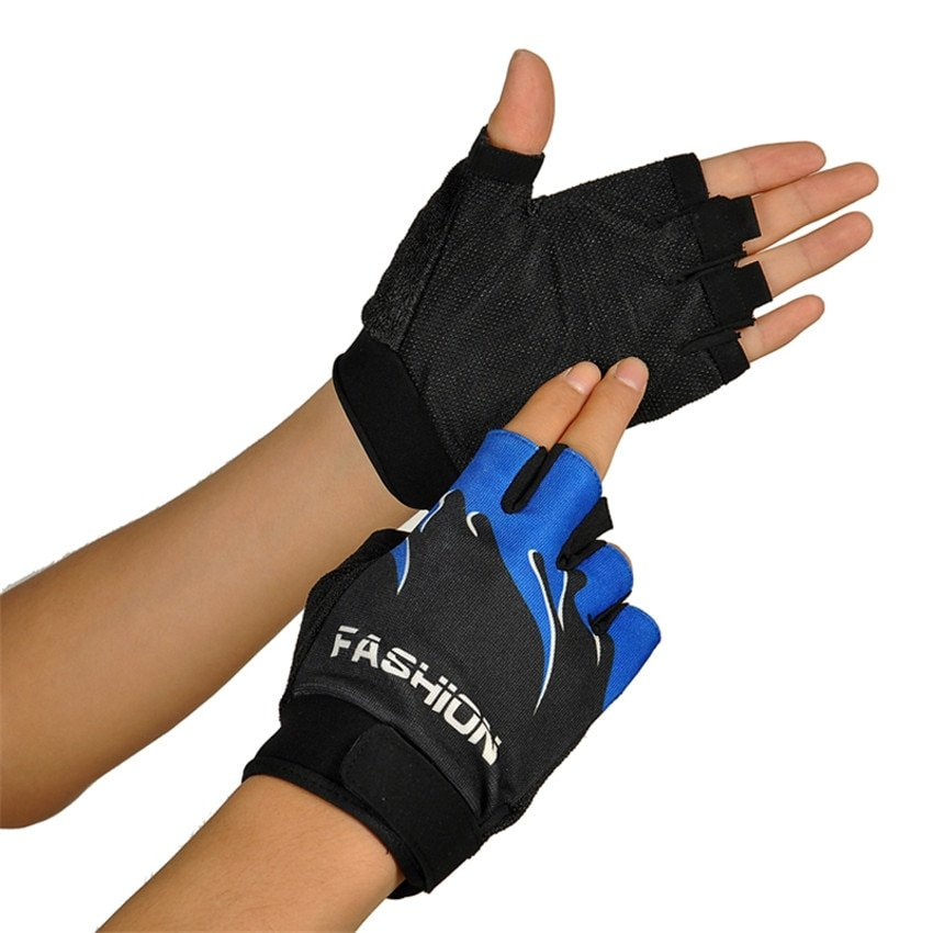 Half Finger Fingerless Gloves Motorcycle Outdoor Sports Bicycle Cycling