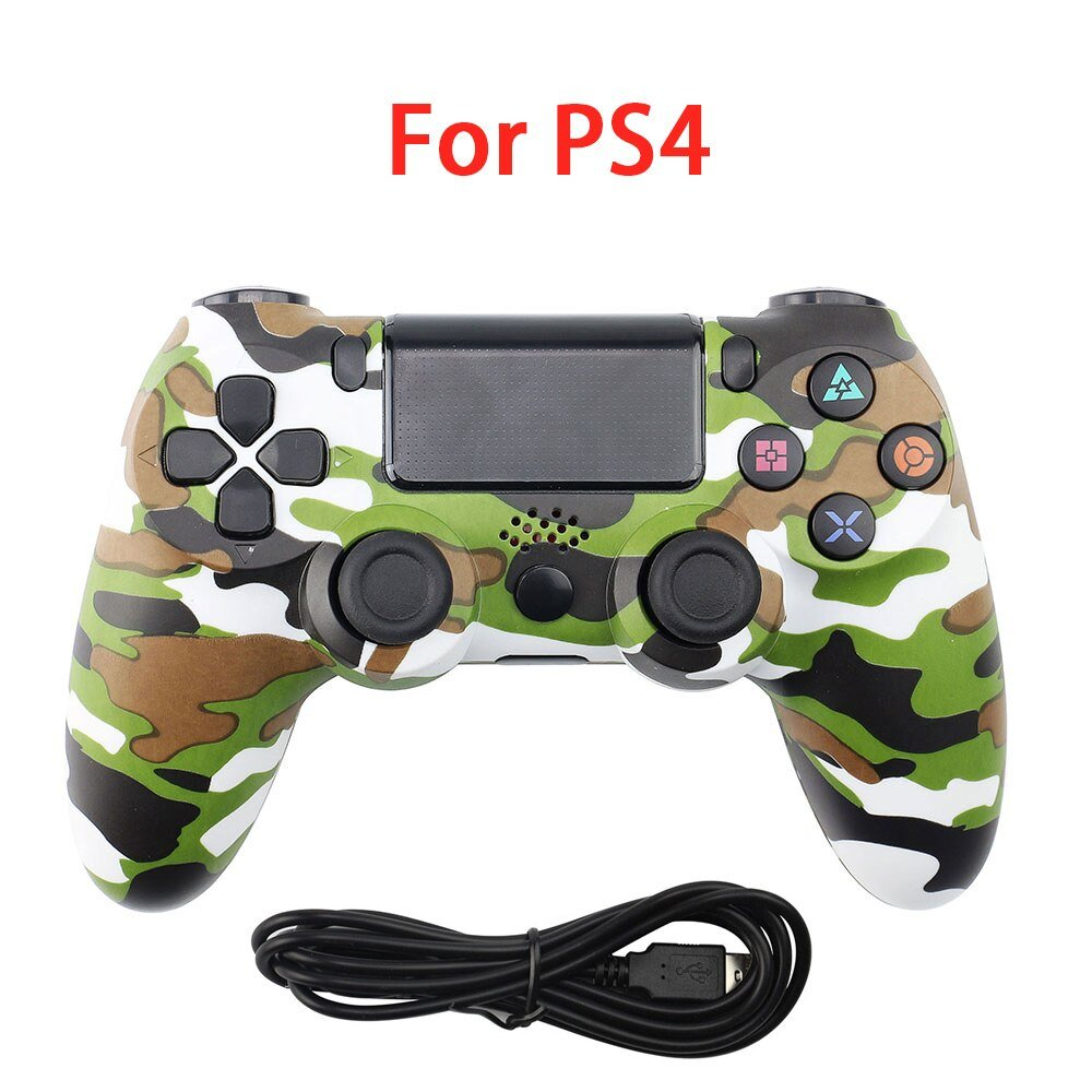Wired Gamepad Bluetooth Joystick For PS4 Wired Controller Wireless Console For PS3 PS4 Gamepad