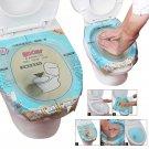 36X45cm Universal Unclog Toilet Disposable Sticker Plunger Dredge Easy Fix Clogged Film