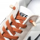 1 Pair No Tie Shoe laces Elastic Shoelaces Outdoor Leisure Sneakers Quick Safety Flat  Lazy laces