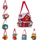 Santa Xmas Christmas Gift Bag Candy Merry Christmas Pocket Home Store Gift Decor