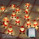 Santa Claus Christmas LED String Lights Garland Decorative Fairy Lights Christmas Deocr