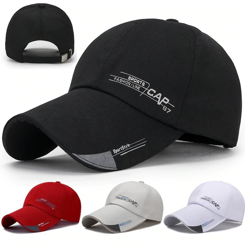 Quick Dry Waterproof Sports Peaked Cap Sun Hat Space Baseball Cap Women Men