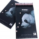 Nyoni N3031 14pcs/set Sketching Pencil Beginner Student Professional Full Set Drawing Pencil Art Sta