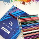 72 Colors Pencil Set Hand Painted Graffiti Coloring Soft Watercolor Pencils Professional Stationery