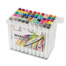 ZUIXUA 602 36 Colors Dual Head Marker Pen Set Art Markers Brush Pen Sketch Oil Alcohol Drawing Stati