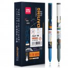 Deli A624 0.5mm Gel Pen Set Smooth Writing Black Refill Ballpoint Pen Stationery School Students Off