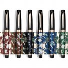 HongDian HD1837 Fountain Pen Flower Magpie Pattern 0.5MM Nib Fountain-Pens Gift Office Business Writ
