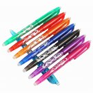 8Pcs/Set 8 Colors 0.5mm Erasable Gel Pen Magical Watercolor Pen School Office Writing Supplies Stude