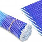 100Pcs 0.5mm Gel Pen Refill Set Erasable Ink Office Signature Rods Blue Black Ink Refill Office Scho