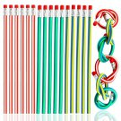 Colorful Magic Bendy Flexible Soft Pencil with Eraser Stationery Student School Office Supplies Rand
