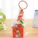 8030 Korean Style 5 Pcs Christmas House Stationery Set Santa Pencils Ruler Manual Pencil Sharpener S