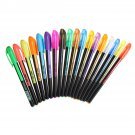 18 Pcs Color Gel Pen Set Adult Coloring Book Ink Pens Drawing Painting Craft Art Sketch Stationery S