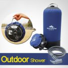 Outdoor Shower Camping Equipment PVC Pressure Shower