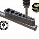 1 Tap guide -Helps tap gun barrels, pistols, gunsmith, automotive, sites, slings