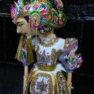 Wayang Golek Yudhistira / Yudhistira's puppet show