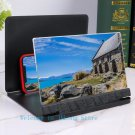 10 inch 10X HD wide screen mobile phone projector mobile theater magnifier-No.SE02-Black
