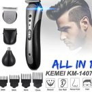 All In 1 Rechargeable Hair Clipper For Men Waterproof Wireless Electric